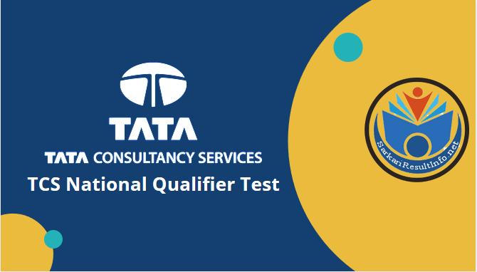 TCS national qualifier test 2021 registration